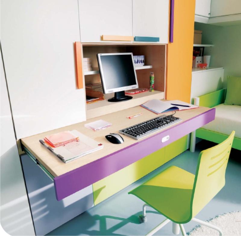 scrivania estraibile
